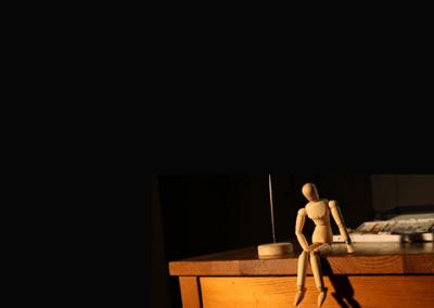 """Mr. Blick"" stop-motion animation"