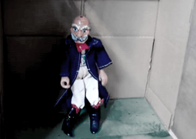 """""""Marching Marionette"""" physical computation project"""
