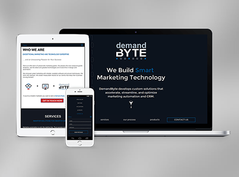 Business branding & responsive site design