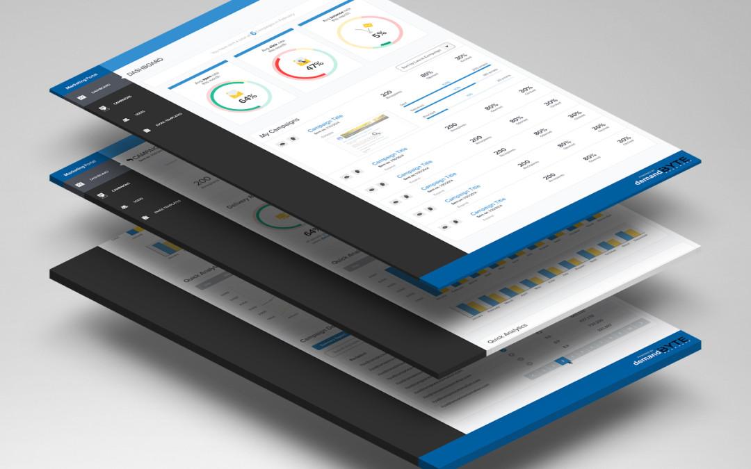 Email marketing web platform