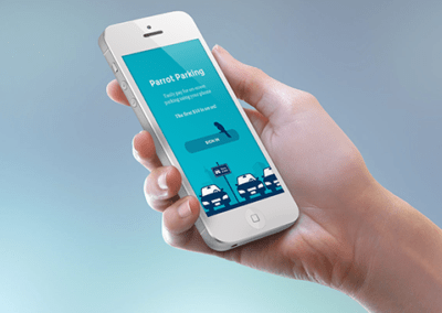 Mobile parking-payment application