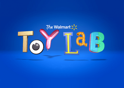 Interactive video experience for Walmart toys