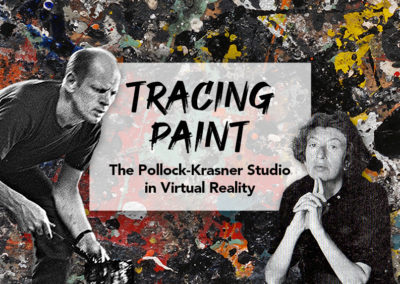 Virtual Reality tour of the Pollock-Krasner studio